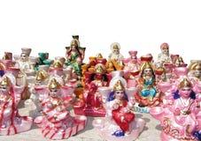 Beautiful small statues Stock Photos