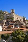 The beautiful small town of Dolceacqua, near Sanremo, Liguria, I Stock Photography