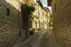 Beautiful small town in Tuscany, Italy Stock Photo