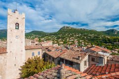 Beautiful small village Stock Images