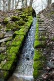 Beautiful small waterfall Royalty Free Stock Photography