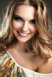 Beautiful smile Royalty Free Stock Photography