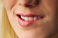 Beautiful smile Stock Image