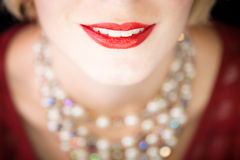 Beautiful smile ! Royalty Free Stock Images