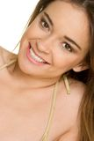 Beautiful Smile stock photography