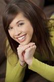 beautiful smile Στοκ εικόνα με δικαίωμα ελεύθερης χρήσης