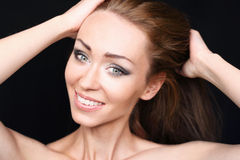 Beautiful smile Stock Images