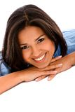Beautiful smiley woman Royalty Free Stock Photo