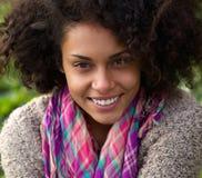 Beautiful smiling african american woman Stock Photos