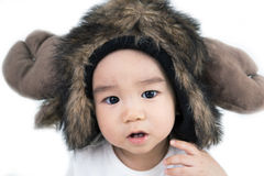Beautiful smiling asian cute baby Stock Image