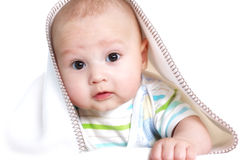 Beautiful smiling baby Royalty Free Stock Photos
