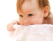 A beautiful smiling baby Stock Photos