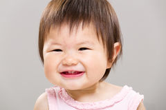 Beautiful smiling baby Stock Image