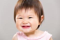 Beautiful smiling baby Stock Image