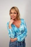 Beautiful Smiling Blonde (2) Stock Photos