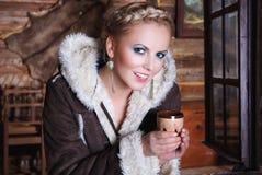 Beautiful smiling blonde Stock Image