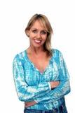 Beautiful Smiling Blonde (3) Stock Photo