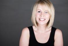 Beautiful Smiling Blonde Girl Royalty Free Stock Photo