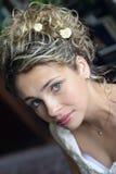Beautiful smiling bride Royalty Free Stock Photos