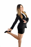 Beautiful smiling business woman Stock Photo