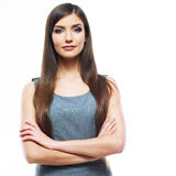 Beautiful smiling business woman. Stock Photography