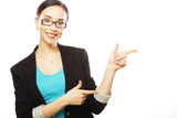 Beautiful smiling business woman Royalty Free Stock Photography