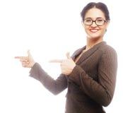 Beautiful smiling business woman Royalty Free Stock Photos