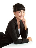 Beautiful smiling businesswoman looking at camera Stock Image