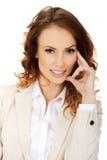 Beautiful smiling businesswoman. Stock Photos