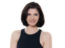 Beautiful smiling caucasian woman portrait royalty free stock images