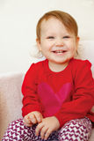 Beautiful smiling cute baby Royalty Free Stock Photo