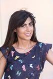 Beautiful smiling fashion woman portrait Stock Photography