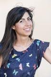 Beautiful smiling fashion woman portrait Royalty Free Stock Image