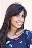 Beautiful smiling fashion woman portrait Stock Image