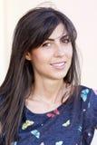 Beautiful smiling fashion woman portrait Royalty Free Stock Photos