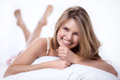 Beautiful smiling girl Royalty Free Stock Image