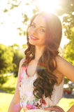 Beautiful smiling girl Royalty Free Stock Photos
