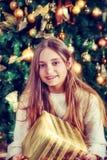 Beautiful smiling girl. Stock Images