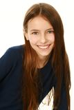 Beautiful smiling girl looking at camera Stock Images