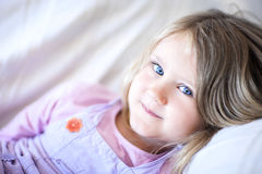 Beautiful smiling girl Royalty Free Stock Images