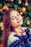 Beautiful smiling girl. Royalty Free Stock Image