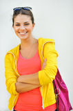 Beautiful smiling girl portrait Royalty Free Stock Image