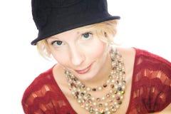 Beautiful smiling lady portrait Stock Images