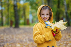 Beautiful smiling little girl Royalty Free Stock Photography