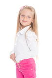 Beautiful smiling little girl Royalty Free Stock Photos