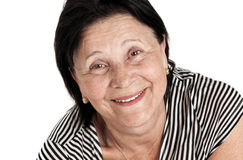 Beautiful Smiling Mature Woman Royalty Free Stock Images