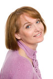 Beautiful smiling middle aged woman Stock Photos