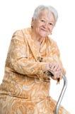 Beautiful smiling senior woman Royalty Free Stock Photos
