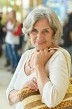 Beautiful smiling senior woman Royalty Free Stock Image