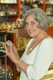 Beautiful smiling senior woman Royalty Free Stock Photo